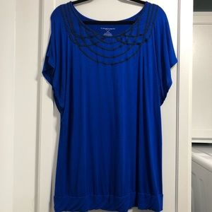 Liz Lange Tops - Liz Lange Maternity Tunic Blouse